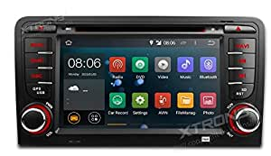 AUTORADIO SPECIFICA XTRONS PF73AA3A AUDI A3 ANDROID 4.4.4 QUADCORE WIFI 3G USB SD MP3 GPS BLUETOOTH