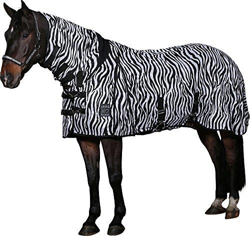 Horse Guard Fliegendecke Zebra mit elastischem Einsatz (155) -