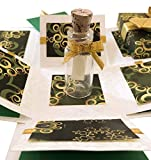 #10: Crack of Dawn Crafts 3 Layered All Occasion Explosion Box with Message in a Bottle - Hara Hungama