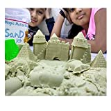 #9: Gixmo 400 Grams Random Color + 10 sea Moulds Magic Kinetic Motion Sand for Boys & Girls Clay Replacement