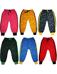 KIFAYATI BAZAR Track Pants Lower Bottom AllPrint For Kids Boys and Girls Pack of 6