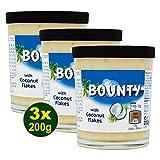 Bounty Pasta para Barrar de Leche Con Copos de Coco - Paquete de 6 x 200 gr - Total: 1200 gr