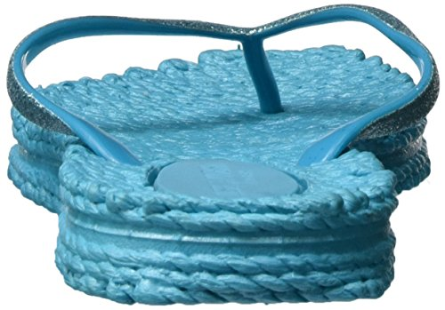 Ilse Jacobsen Damen Cheerful01 Zehentrenner Blau (Pacific Blau)