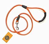#8: The Pets Company Dog Nylon Rope Leash for Medium and Large Dogs, Yellow Orange