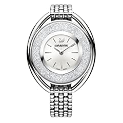 Idea Regalo - swarovski Crystalline Oval White Braccialetto Watch