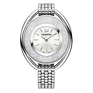 swarovski Crystalline Oval White Braccialetto Watch