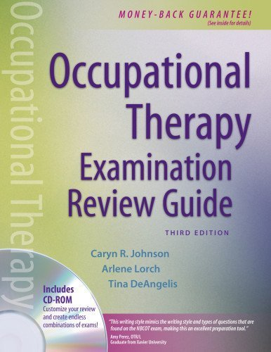 Occupational Therapy Examination Review Guide, Third Edition 3rd Edition by Johnson MS OTR/L FAOTA, Caryn R., Anderson OTR/L, Debra N. (2006) Paperback