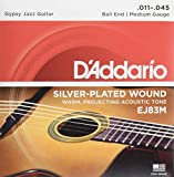 D'Addario EJ83M Saitensatz für Akustik-Gitarre 0,027 cm - 0,11 cm (.011 - .045 Zoll)