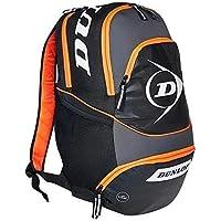 Bolsa de almacenamiento de Squash de rendimiento Dunlop mochila de equipaje negro/gris/naranja