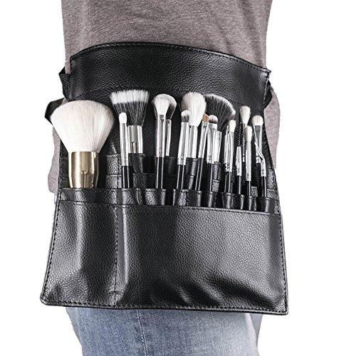 22 Bolsillos Profesional Cosmético Maquillaje Cepillo