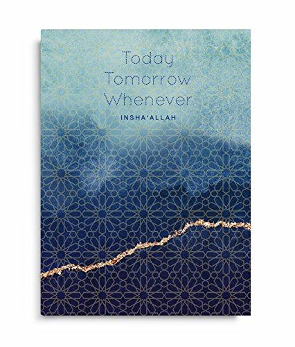 Heute, Morgen. Notizbuch, A5, gebunden, Islamische Stationery, JOTTER