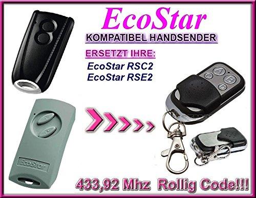 EcoStar RSC2, EcoStar RSE2 kompatibel handsender, ersatz fernbedienung, 433,92Mhz rolling code. Top Qualität ersatzgerät!!! -