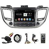 tltek 8Inch HD 1024* 600Muti-Touch pantalla coche sistema de navegación GPS para Hyundai Tucson 2016Android reproductor de DVD + cámara de copia de seguridad + free UE mapa