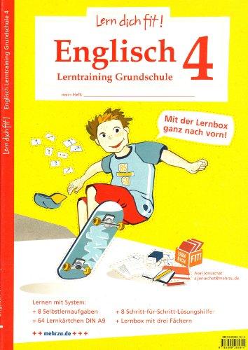 Lern dich fit!-Lerntraining: Englisch Grundschule 4: Das Wetter, Uhrzeiten, Tiere, Märchen, Halloween