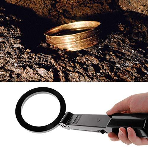 Detector de metales Mmnas, detector portátil de mano plegable de metal, alta sensibilidad.