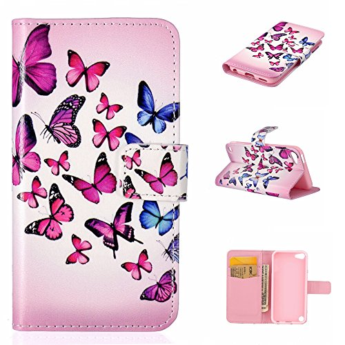 apple-ipod-touch-5th-generation-case-free-screen-protector-boxtii-premium-pu-leather-wallet-case-wit