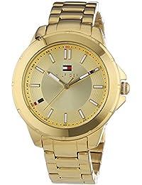 Tommy Hilfiger Watches KIMMIE - Reloj Analógico de Cuarzo para Mujer, correa de Acero inoxidable