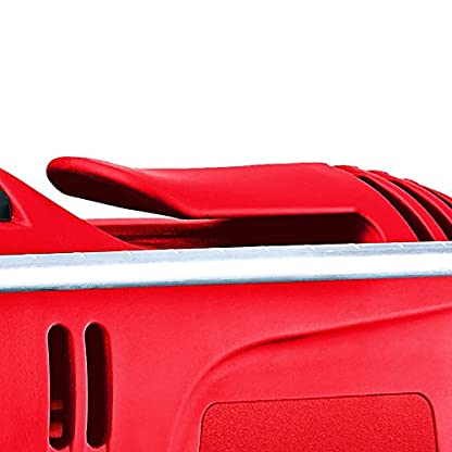 Einhell Taladro percutor atornillador eléctrico (TC-ID 650 E ) 650W, 2 funciones (perforación y taladro de percusión) con gancho para cinturón.