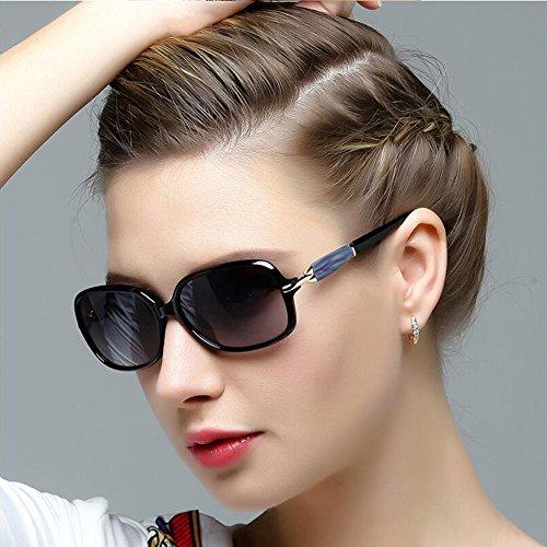 Polarized CJC Sunglasses 100% UV Protection Anti-glare glasses HD Gradual change lens