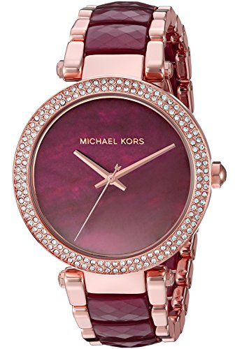 Michael Kors Parker Femme 39mm Bracelet Acier Inoxydable Quartz Montre MK6412