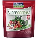 BIOGLAN Super Greens Parfum Berry Burst en Poudre Aliments sans Gluten 100 g