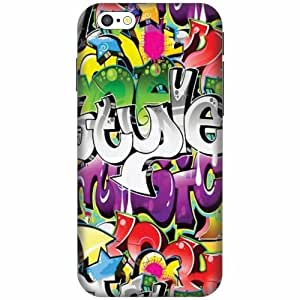 Apple iPhone 6S Hard Plastic Back Cover - Multicolor Designer Cases Cover by Printland