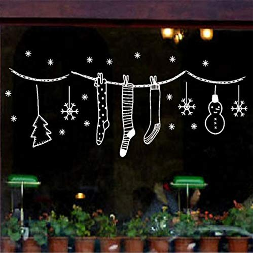 Wuyyii Frohe Weihnachten Wand Kunst Removable Home Vinyl -