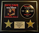NICK CAVE AND THE BAD SEEDS/CD-Darstellung/Limitierte Edition/COA/TENDER PREY