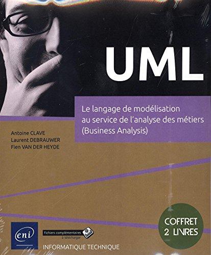 UML : Coffret de 2 livres - Le langage de modélisation au service de l'analyse des métiers (Business Analysis)
