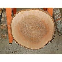 Baumscheibe Holzscheibeca 60 X 5 Cm Tischplatte Esche