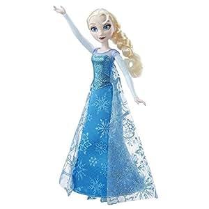Hasbro Disney Die Eiskönigin B6173100 – Singende Lichterglanz Elsa, Puppe