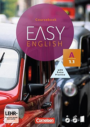 Easy English: A1: Band 1 - Kursbuch: Mit Audio-CDs, Phrasebook, Aussprachetrainer und Video-DVD Easy Bib