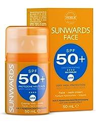 sunwards SPF 50 + face and Neck Cream 50ml