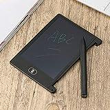 FairytaleMM 4,4 Zoll Mini Schreiben Tablet Digital LCD Zeichnung Notizblock Elektronische Praxis Handschrift Malerei Tablet Pad Geschenk für Kinder (Farbe: schwarz)