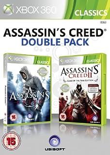 Ubisoft Double Pack - Assassin's Creed 1 & 2 (Xbox 360) [Importación inglesa] (B006UCJA44) | Amazon price tracker / tracking, Amazon price history charts, Amazon price watches, Amazon price drop alerts
