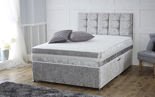 Bed and mattress sets search furniture for Small double divan base with storage