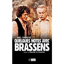 Quelques notes avec Brassens (French Edition)