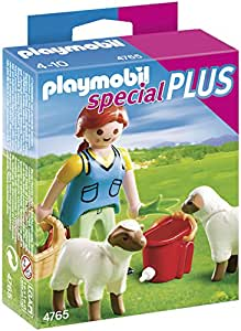 Playmobil 4765 Figure Set - Shepherdess with Sheep