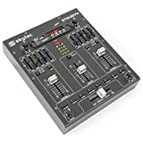 Skytec 172982 4-Kanal-Mixer mit Effekten, SD/USB / MP3 / BT