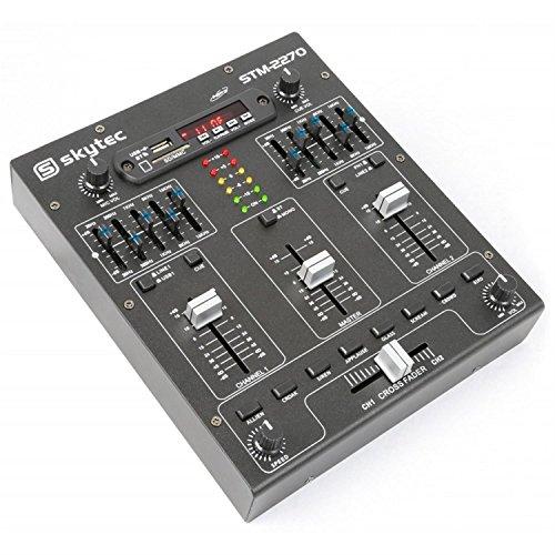 Skytec 172982 4-Kanal-Mixer mit Effekten, - Dj-powermixer