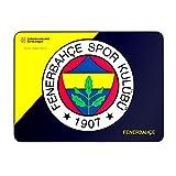 Mars Gaming Alfombrilla Fenerbahçe para PC (ratón Laser y óptico, Producto Oficial Euroliga)