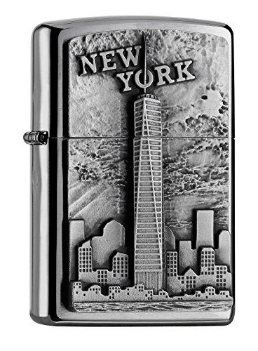 Zippo Sturmfeuerzeug 2004740 NEW YORK SKYLINE EMBLEM