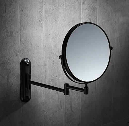 MangeooIm europäischen Stil Schwarz kupfer Badewanne Badezimmer Wand Teleskopantenne klappbarer...