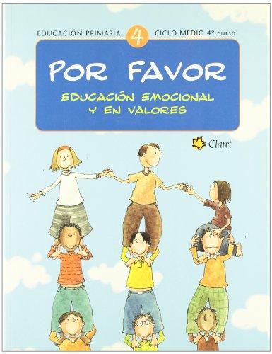Por Favor. Educación Emocional Y En Valores. E.P. 4