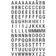 Avery Zweckform 3720 Buchstaben Etiketten (A-Z 6,5 mm, Folie, starker Halt) 240 Aufkleber