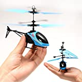 Infrared Induction Helicopter Without Remote And Flashing Light For Kids - Multi Color