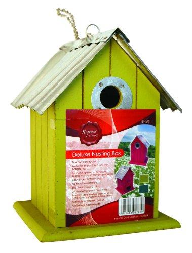 Galleria fotografica DELUXE nicchie LEGNO Birdhouse NEST fantastici colori