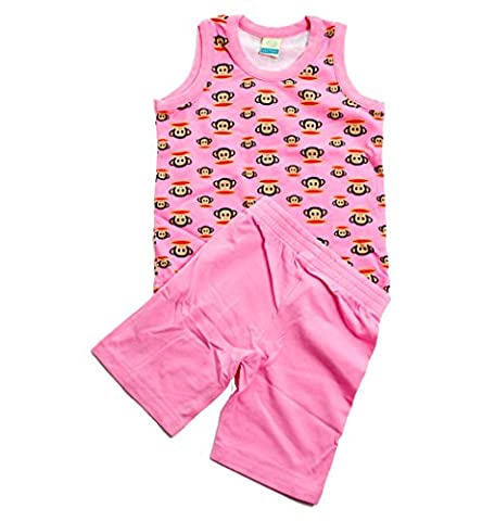 Paul Frank Julius Kids Pink Pajamas (AGE 2)