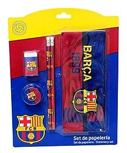 FC Barcelona GS-506-BC Set de Papelería con Portatodo