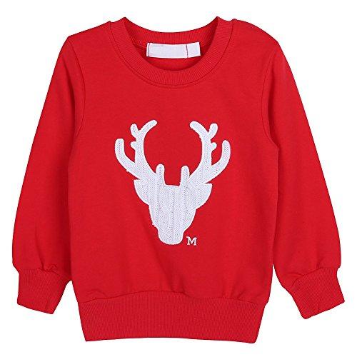 Weihnachten Baby Pullover Eltern-Kind Outfits Alter 1-10 Frohe Weihnachten von Bornbayb